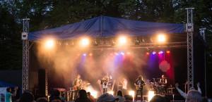 Partybühne für Bands mit großer Show